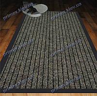 Коврик грязезащитный Широкий рубчик, 50х80см., коричневый