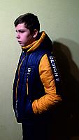 """Весенняя куртка трансформер для мальчиков """"Бестселлер""""."""