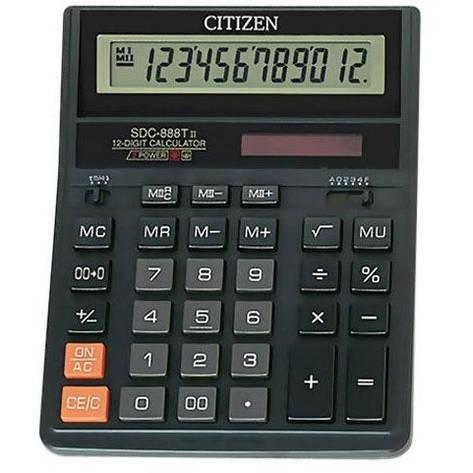 Калькулятор фінансовий SDC-888T, фото 2