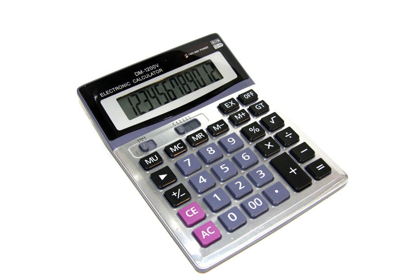 Калькулятор финансовый DM-1200V
