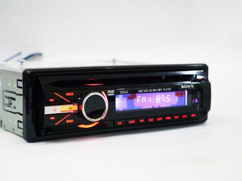 Автомагнитола DVD Pioneer CDX-GTX490U, съемная панель, 4х50W - Plus в Одессе