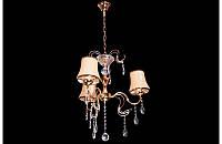 Люстра с абажурами на три лампы LS5445-3, фото 1