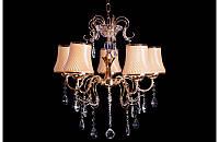 Люстра с абажурами на пять ламп LS5445-5, фото 1