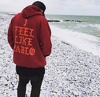 Толстовка с принтом I Feel Like Pablo | Yeezy