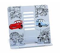 """Подставка для книг,металлическая """"Cars"""" голубая Lider"""
