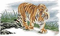 """Набор алмазной вышивки (мозаики) """"Величественный тигр"""". Художник Meng Xiangshun"""