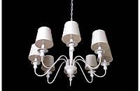 Люстра с абажурами на восемь ламп  LS6026-8W