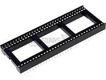 Панелька для мікросхем DIL 64выв. часта 15,24 мм RM1,778мм