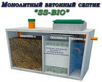 """Бетонный септик """"SS-Bio"""" с биофильтром."""
