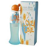 Moschino I Love Love EDT 100 ml  туалетная вода женская (оригинал подлинник  Италия), фото 3
