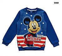 Теплая кофта Mickey Mouse для мальчика. 140 см, фото 1