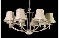 Люстра с абажурами на восемь ламп LS6027-8W