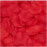Искусственные красные лепестки роз (150 шт.)
