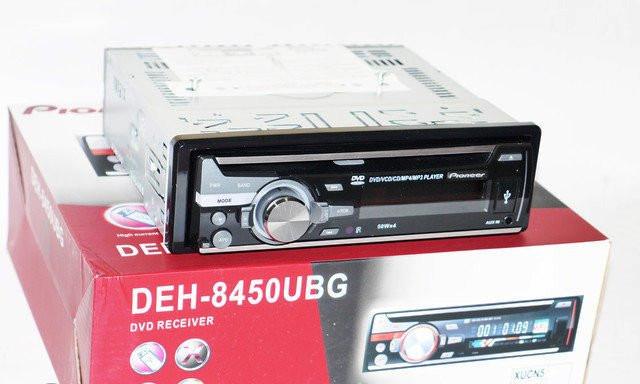 Автомагнитола DVD Pioneer DEH-8450UBG, съемная панель, 4х50W - Plus в Одессе