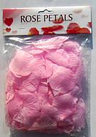 Искусственные розовые лепестки роз (150 шт.)