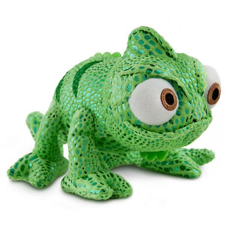 Disney Мягкая игрушка хамелеон Паскаль 20см - Рапунцель