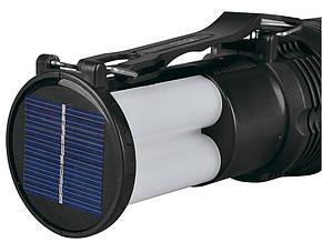Фонарь ручной светодиодный с солнечной батареей Yaja 2881T, фото 2
