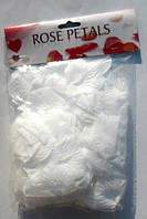 Искусственные белые лепестки роз (150 шт.)