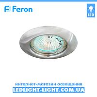 Врізний точковий світильник Feron DL13 Хром