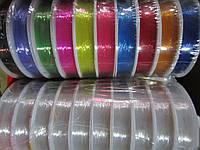 Леска-стрейч белая для браслетов, бус, плетения