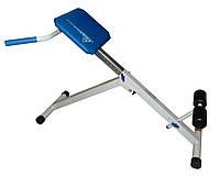 Скамья для мышц спины (гиперэкстензия) Pro регулируемая, фото 1