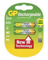 Аккумулятор GP Ni-Mh AAA (70ААAHC-U2 R03), 700mAh