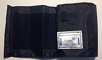 Манжет для плеча нейлоновый 51*14 см. с кольцом без камеры, обхват 24-38 см, цвет синий, фото 1