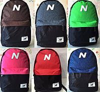 Отличный городской рюкзак New Balance, оригинальный дизайн, спортивные сумки, портфели, отличное качество