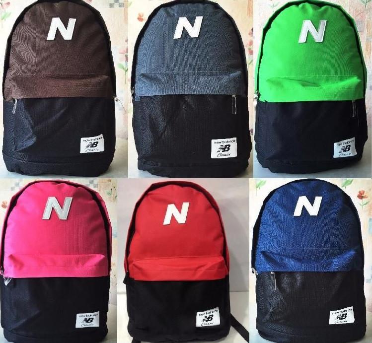 Отличный городской рюкзак New Balance, оригинальный дизайн, спортивные  сумки, портфели, отличное качество 9b6c4a63b69