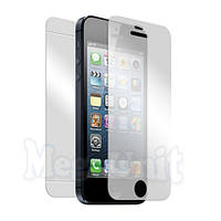 2в1 Защитная пленка (перед+зад) для Apple iPhone 5/5S