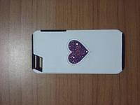 Чехол накладка Deos IPhone SE 5 5s с камнями Сваровски Swarovski