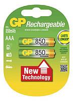 Аккумулятор GP Ni-Mh AAA (85ААAHC-U2 R03), 850mAh