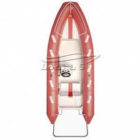 Надувная лодка с пластиковым дном Aqua-Storm RIB Amigo 510V (Аква-Шторм РИБ Амиго 510В)