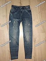 Леггинсы с принтом джинс, фото 3