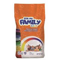 Стиральный порошок For my Family 6 кг для стирки цветного