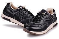 Кроссовки мужские New Balance 1400 leather black, фото 1