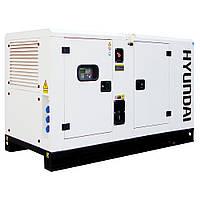 Генератор Hyundai DHY18KSEM+ATS
