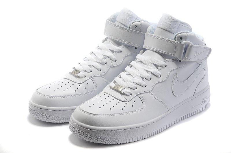 4538aeaa Мужские Кроссовки Nike Air Force Mid White — в Категории