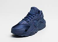 Кроссовки женские Nike Air Huarache Blue All Navy