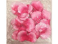 Лепестки роз свадебные красно розовые (600 шт.)