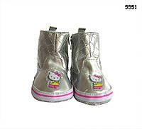 Пинетки-сапожки Hello Kitty для девочки. 12 см 12 см - 1 шт.