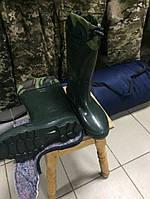 Сапоги резиновые ЗСУ с утепленными унтами