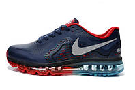 Кроссовки мужские Nike Air max 2014 leather Blue-Red
