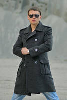 Пальто мужское №М-900 диагональ