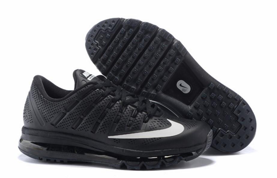 ec7edb595dfb Кроссовки Мужские Nike Air Max 2016 Leather Black 44 — в Категории ...