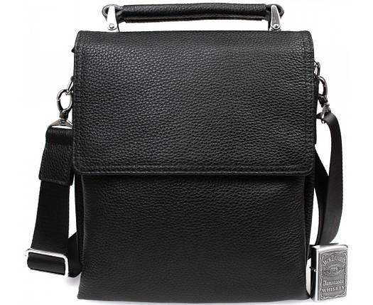 ae0ec354b2bf Деловая мужская кожаная сумка-барсетка черная ALVI av-41-8721 купить ...