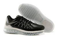 Кроссовки мужские Nike Air max 2015 leather Black-Grey, фото 1