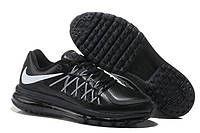 Кроссовки мужские Nike Air max 2015 leather Black