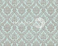 Обои флизелиновые A.S.Creation Safina 33323-4 орнамент / рисунок / синие / темные