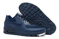Мужские кроссовки Nike air max 90 hyperfuse dark blue, фото 1